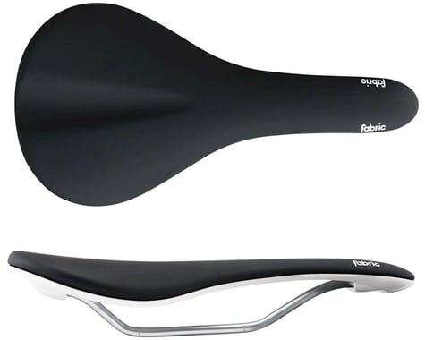 Fabric Scoop Flat Elite Saddle (Black/White) (Chromoly Rails) (142mm)