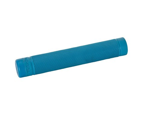 Fiction Troop Flangeless Grips (Pair) (Bright Blue)