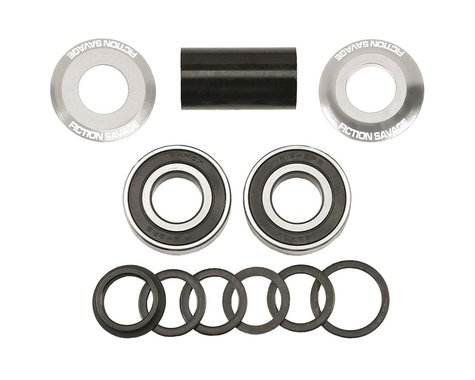 Fiction Savage Mid BB Kit (Polished) (19mm)