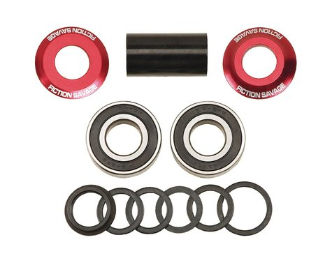 Fiction Savage Mid BB Kit (Red) (19mm)