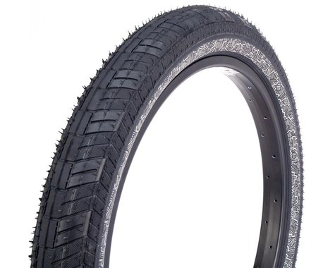 Fiction Atlas LP Night Moves Tire (Black/Reflective Silver) (20 x 2.40)