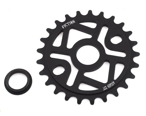 Fiction Asgard Sprocket (Black) (25T)