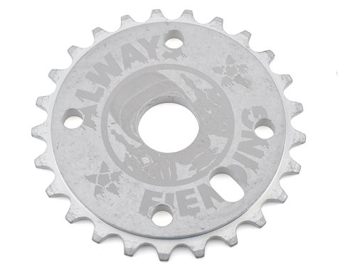 Fiend Reynolds Sprocket (Tumbled Aluminum) (25T)