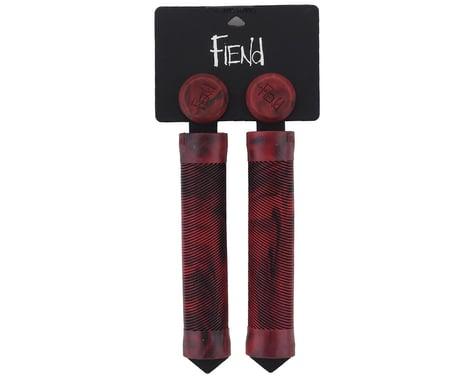 Fiend Team Grips (Pair) (Red/Black Marble)