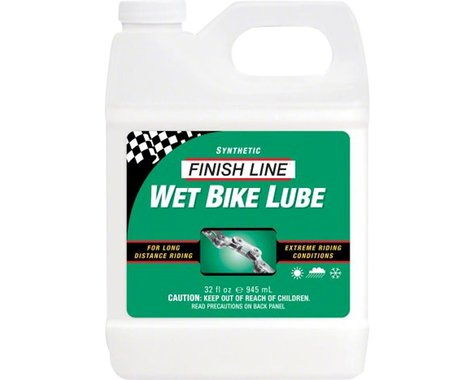 Finish Line WET Bike Chain Lube - 32 fl oz, Bulk