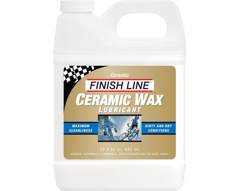 Finish Line Ceramic Wax  Bike Chain Lube - 32 fl oz, Bulk