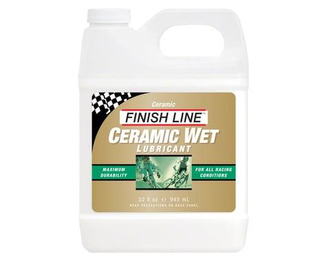 Finish Line Ceramic Wet  Bike Chain Lube - 32 fl oz, Bulk
