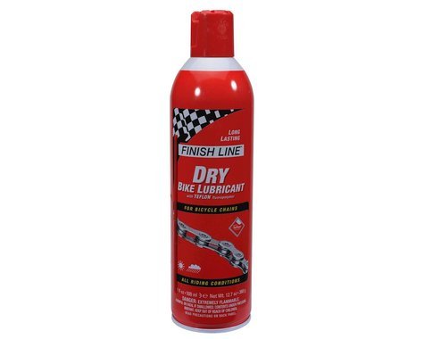 Finish Line 17oz Dry Bike Lubricant With Teflon