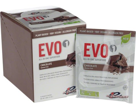 First Endurance EVO1 Recovery Drink Mix (Chocolate) (15 Packets)