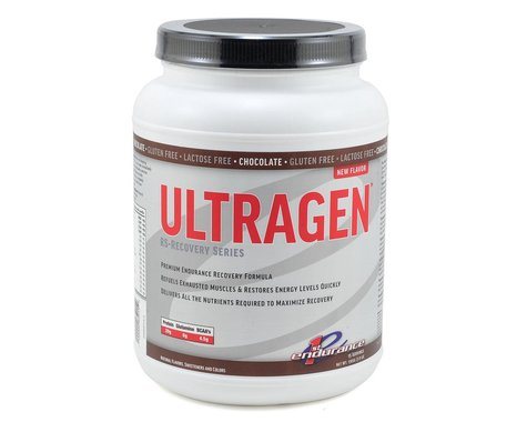 First Endurance Ultragen Recovery Drink Mix (Chocolate) (48oz)