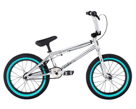"Fit Bike Co 2021 Misfit 16"" BMX Bike (16.25"" Toptube) (Chrome)"