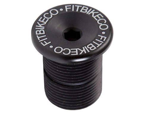 Fit Bike Co Fork Bolt Cap (Black)