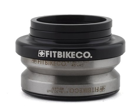 "Fit Bike Co Integrated Headset (Black) (1-1/8"")"