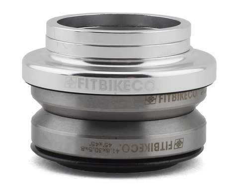 "Fit Bike Co Integrated Headset (Polished) (1-1/8"")"