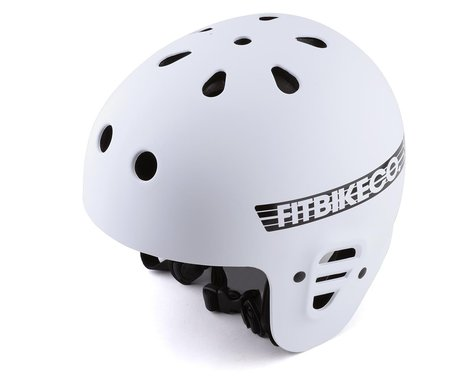 Fit Bike Co x Pro-Tec Full Cut Certified Helmet (White) (M)