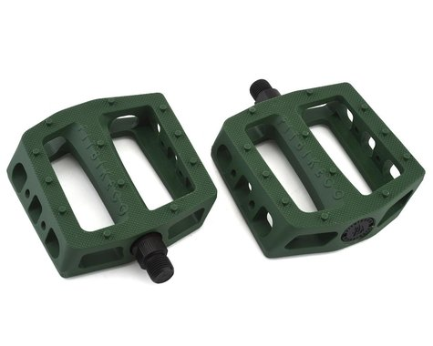 "Fit Bike Co PC Pedals (Army Green) (9/16"")"