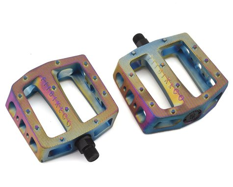 "Fit Bike Co Mack PC Pedals (Oil Slick) (9/16"")"