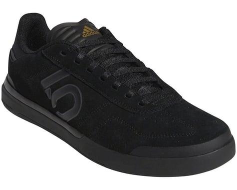 Five Ten Sleuth DLX Men's Flat Shoe (Black/Grey Six/Matte Gold) (9.5)