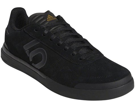 Five Ten Sleuth DLX Men's Flat Shoe (Black/Grey Six/Matte Gold) (9)