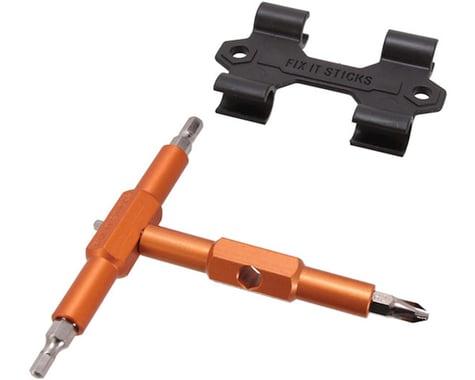Fix It Sticks Tool Multi Fixit Sticks Roadie 3/4/5/Phillips #2 W/Bracket