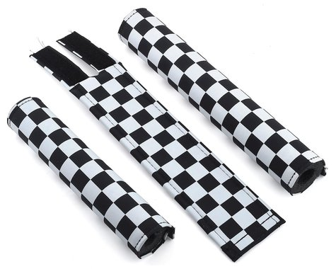 Flite Checkerboard BMX Padset (Black/White)