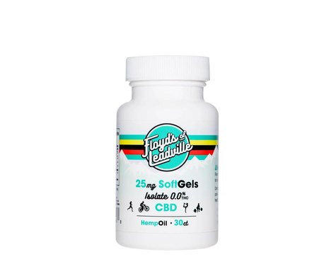 Floyd's of Leadville CBD Softgel Isolate (THC-Free) (30 Capsules)