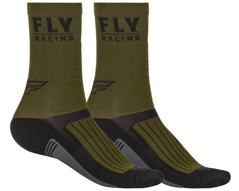 Fly Racing Factory Rider Socks (Green/Black/Grey) (L/XL)