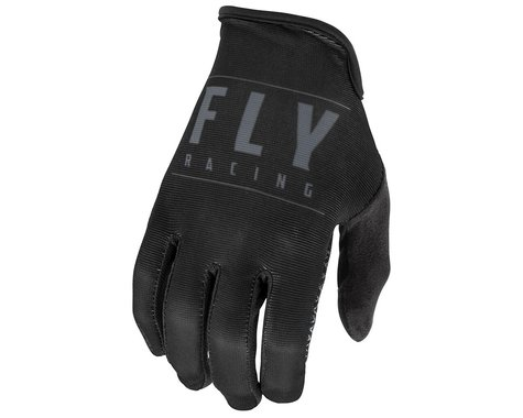 Fly Racing Media Glove (Black/Black) (2XL)