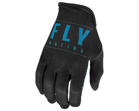 Fly Racing Media Gloves (Black/Blue) (XL)