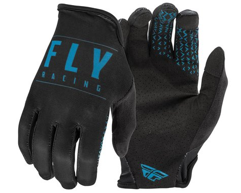 Fly Racing Media Gloves (Black/Blue) (3XL)