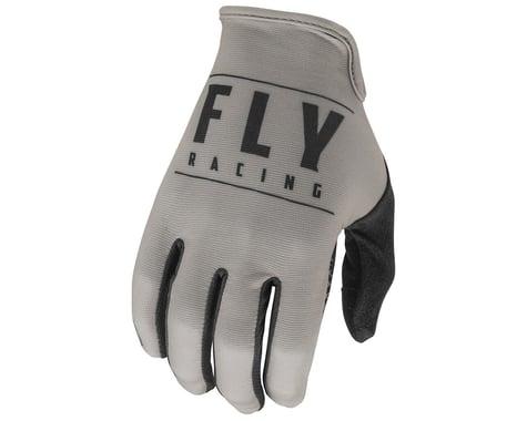Fly Racing Media Gloves (Grey/Black) (M)