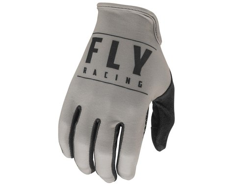 Fly Racing Media Gloves (Grey/Black) (L)