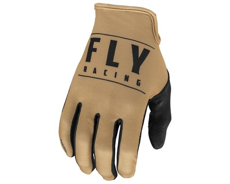 Fly Racing Media Gloves (Khaki/Black) (L)