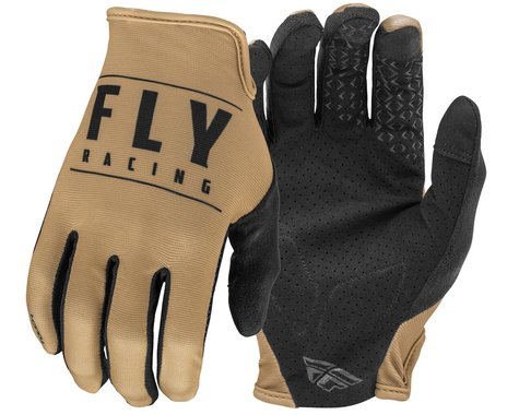 Fly Racing Media Gloves (Khaki/Black) (3XL)