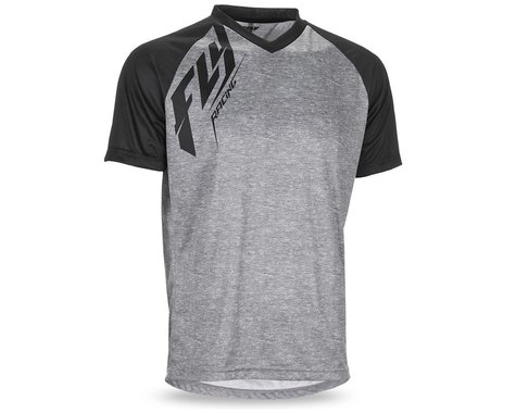 Fly Racing Action Jersey (Heather/Black) (L)