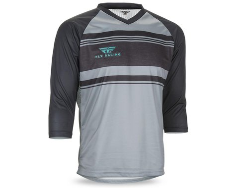 Fly Racing Ripa 3/4 Jersey (Grey/Heather/Black/Teal)