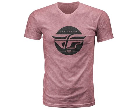 Fly Racing Inversion Tee (Wine Snow) (M)