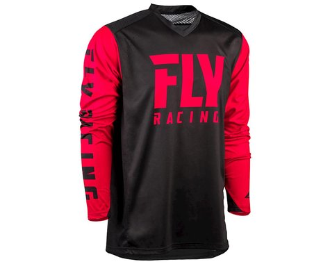 Fly Racing Radium Jersey (Black/Red) (L)