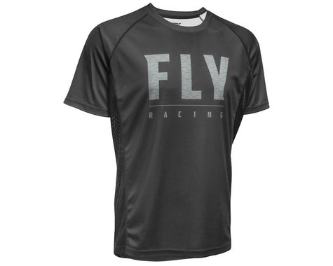 Fly Racing Super D Jersey (Black) (XL)