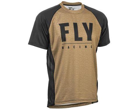 Fly Racing Super D Jersey (Khaki/Black) (M)