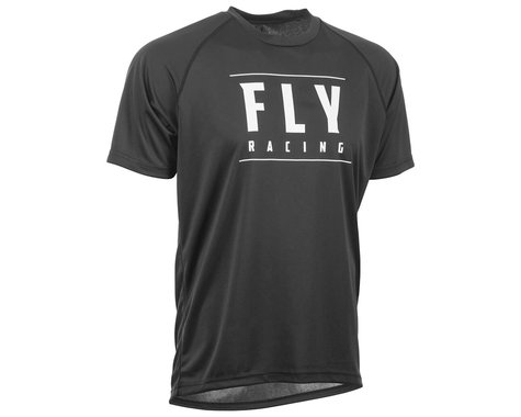 Fly Racing Action Jersey (Black/White) (XL)