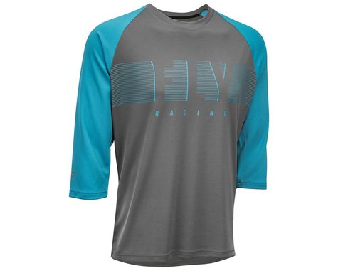 Fly Racing Ripa 3/4 Jersey (Blue/Charcoal) (L)
