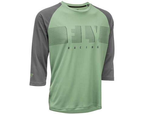 Fly Racing Ripa 3/4 Jersey (Sage/Charcoal Grey) (L)