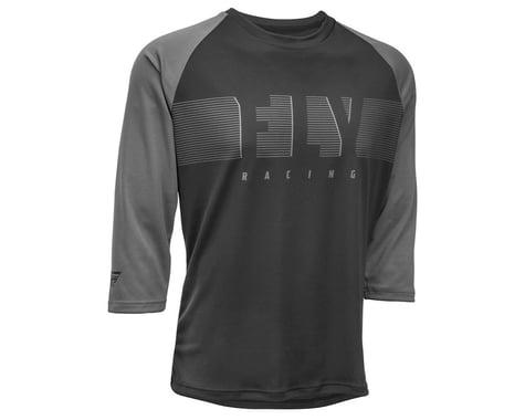 Fly Racing Ripa 3/4 Jersey (Black/Charcoal Grey) (2XL)