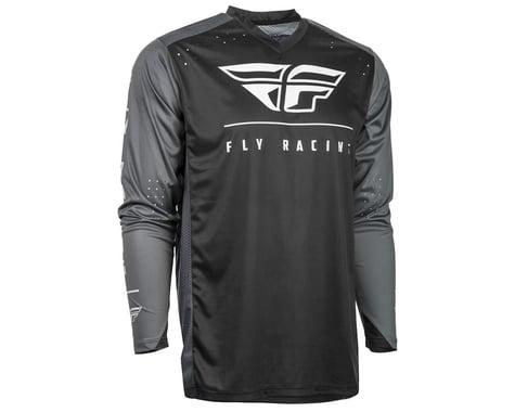 Fly Racing Radium Jersey (Black/Grey/White) (2XL)