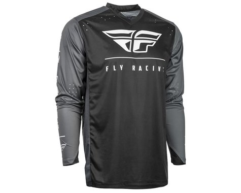 Fly Racing Radium Jersey (Black/Grey/White) (XL)