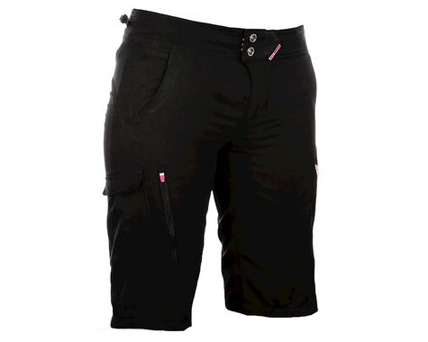 Fly Racing Lilly Women's Shorts (Black/Pink) (XS)