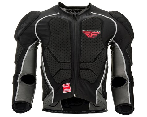 Fly Racing Barricade Long Sleeve Suit (Black) (2XL)