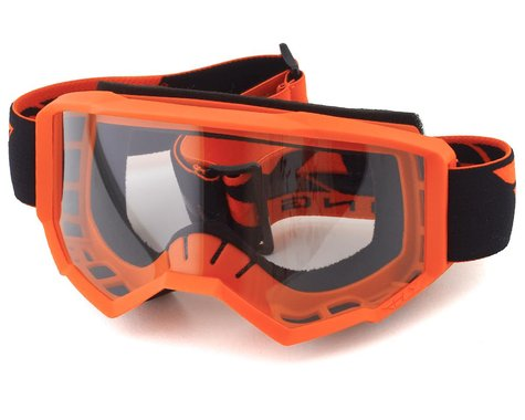 Fly Racing Focus Youth Goggle (Orange) (Clear Lens)