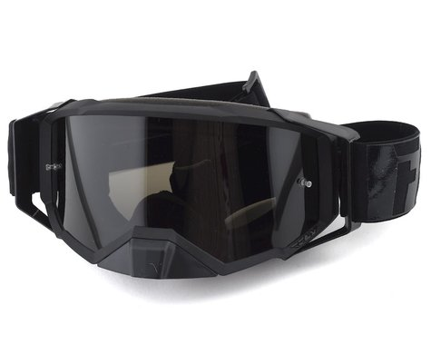 Fly Racing Zone Pro Goggle (Black) (Dark Smoke Lens)